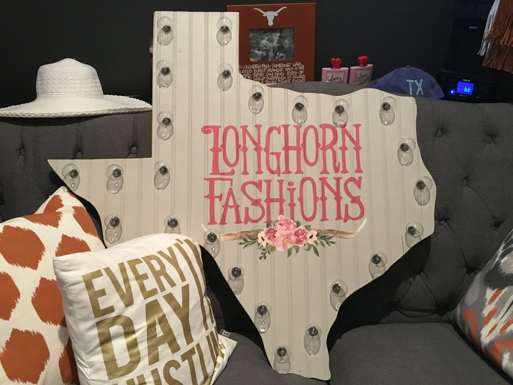 Longhorn Fashions New Logo