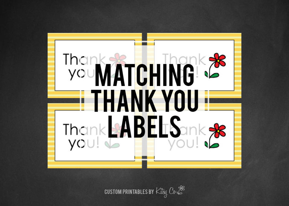 Thank You Labels