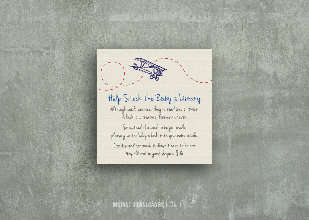 Library Book Card Add-on