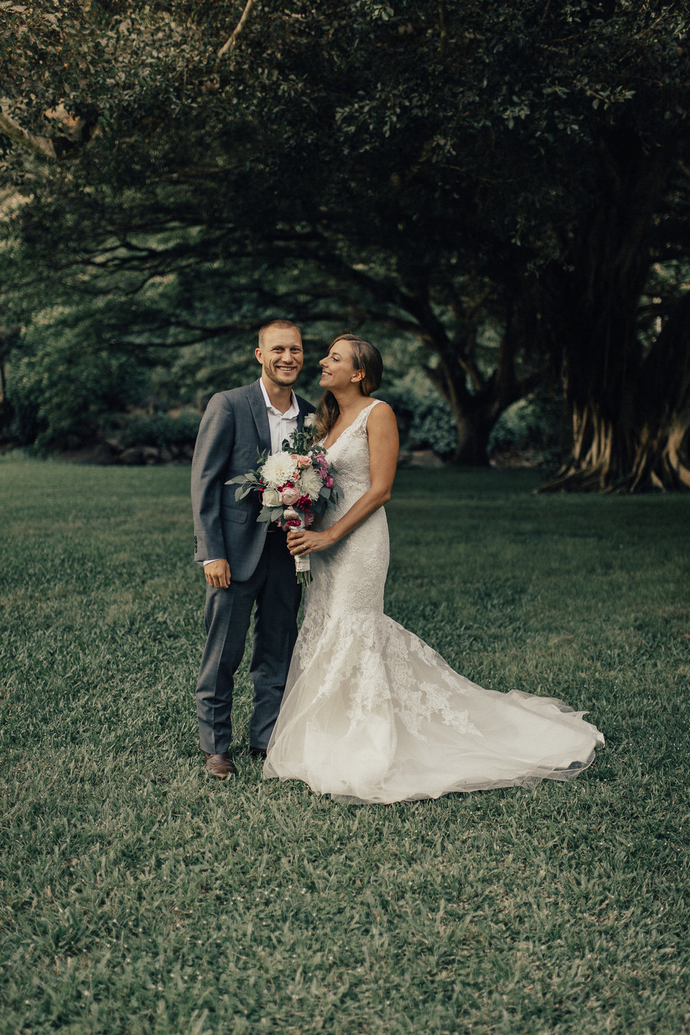 Waimea Valley Wedding