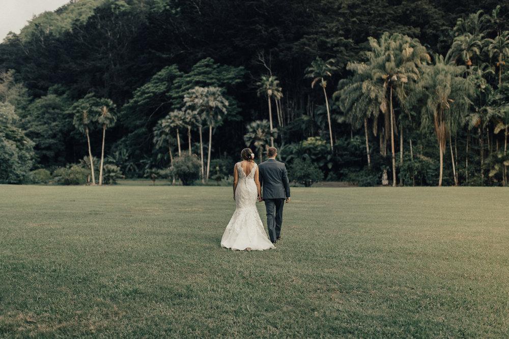 Waimea Valley Wedding