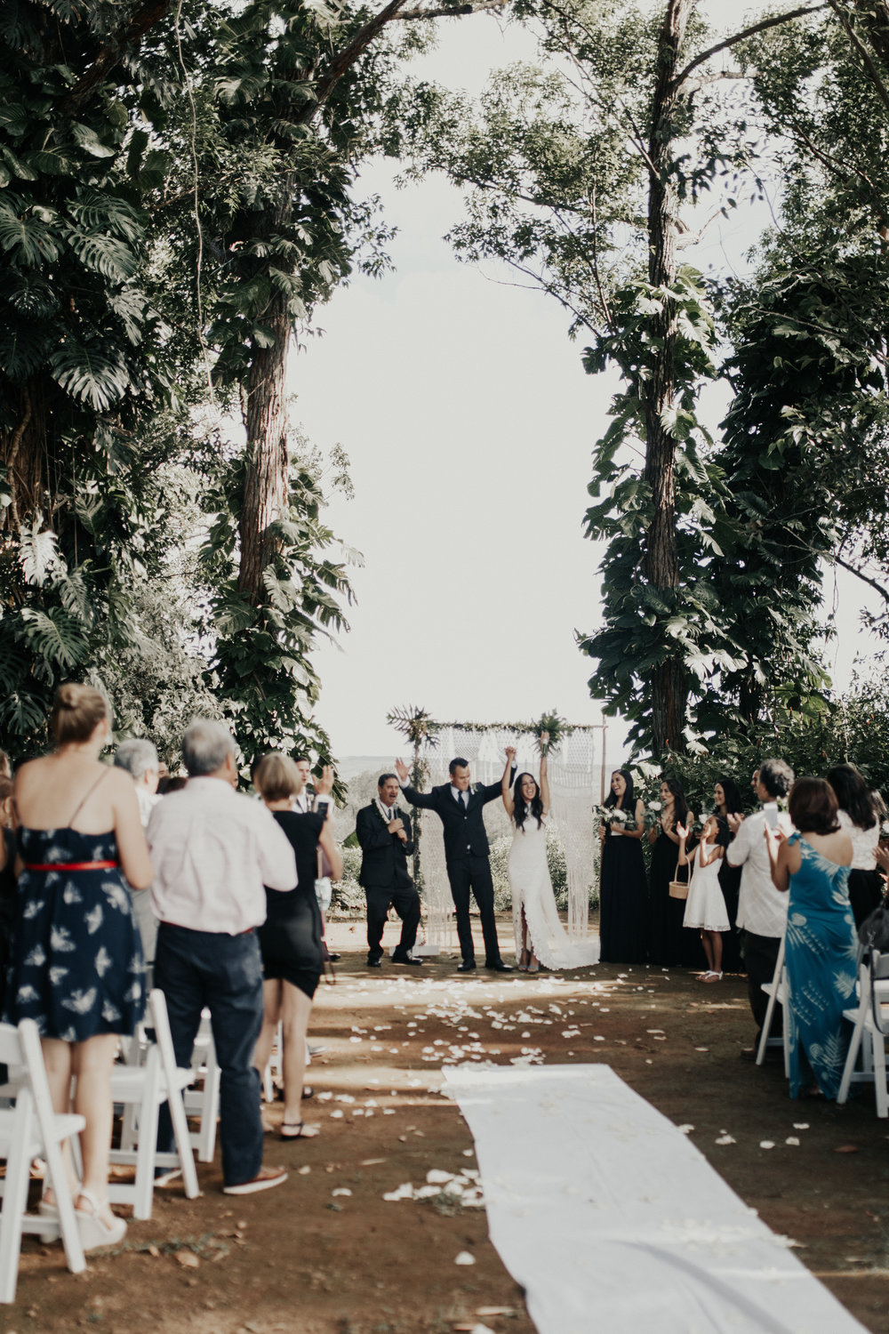 Sunset Ranch Hawaii Wedding
