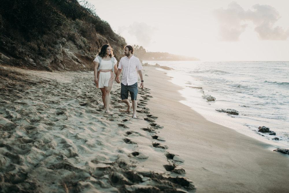 Diamond Head Beach Park Sunrise Wedding