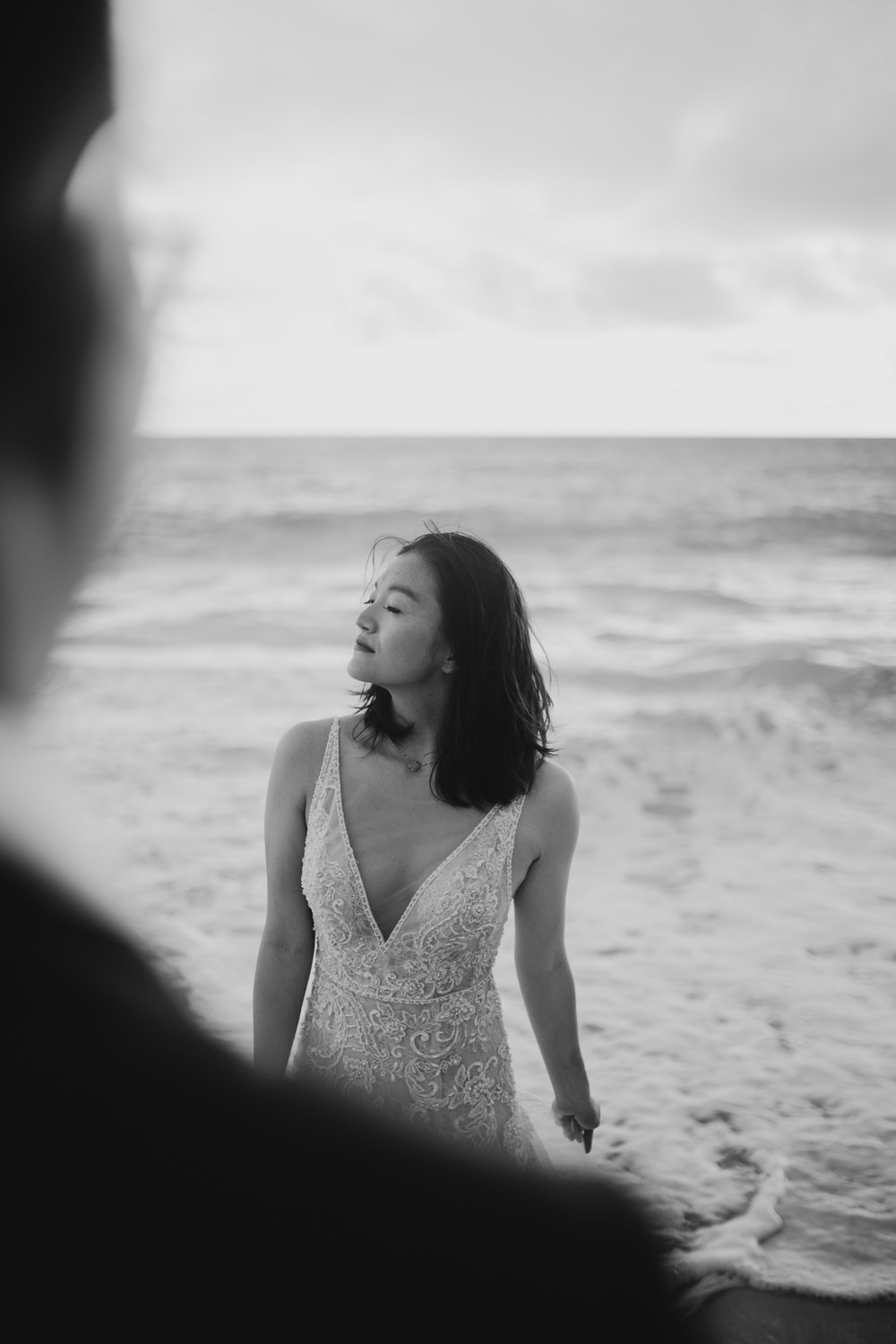 Waimanalo Beach Sunrise Wedding