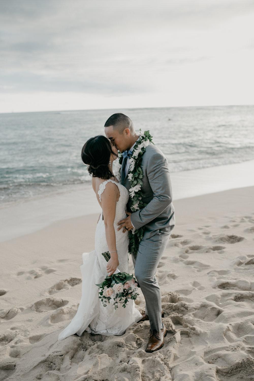 Diamond Head Beach Park Wedding