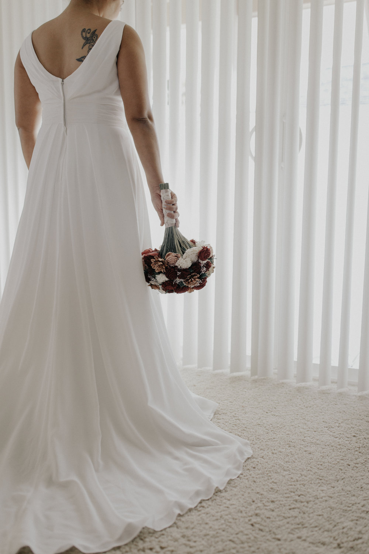 Bridal window photo