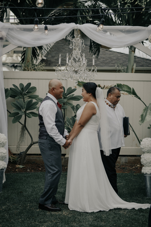 Oahu Backyard Wedding