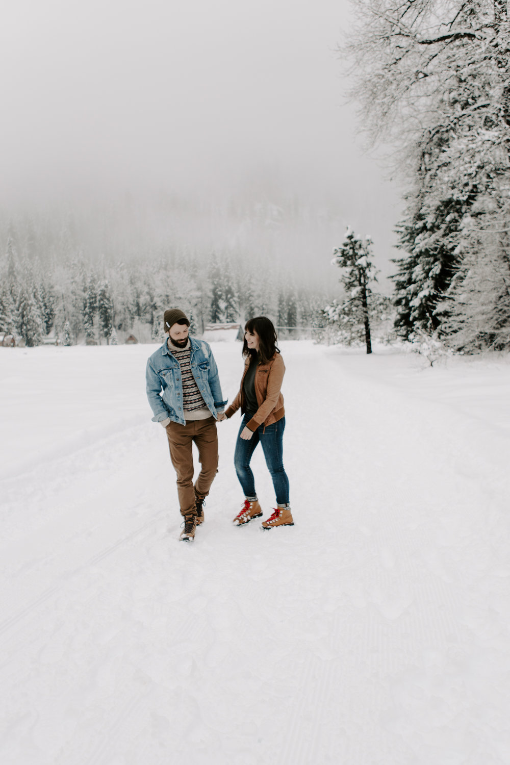 Couples in the North Cascades