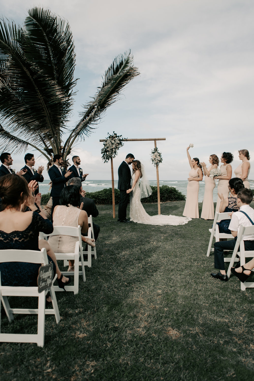 Laie Beach House Wedding