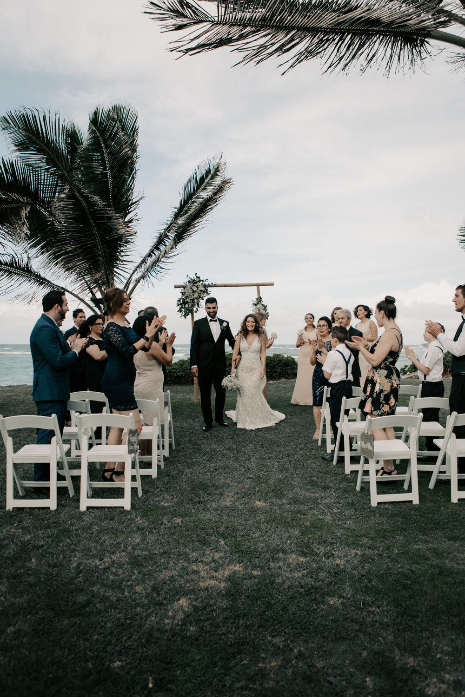 Oahu Beach House Wedding
