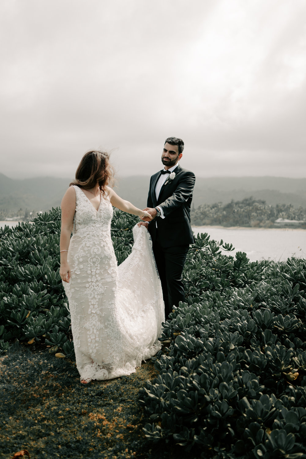 Laie Point Wedding