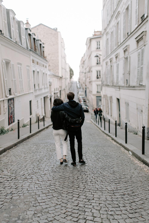 Montmartre Engagement Photographer