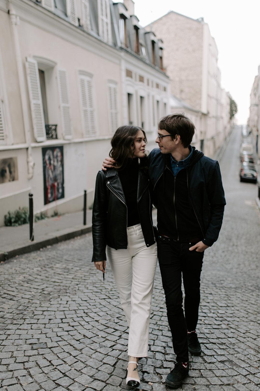 Montmartre Engagement Photos
