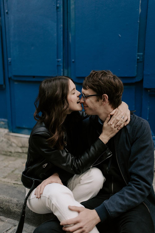 Montmartre Couple Photos