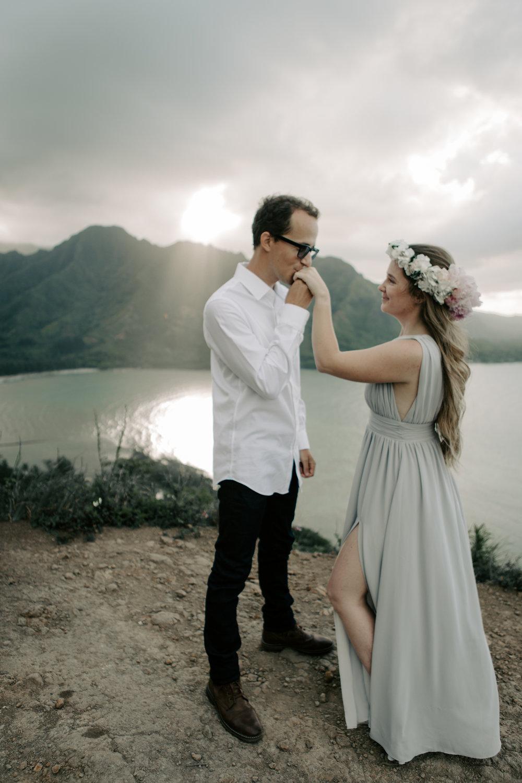 Hawaii Mountain Wedding