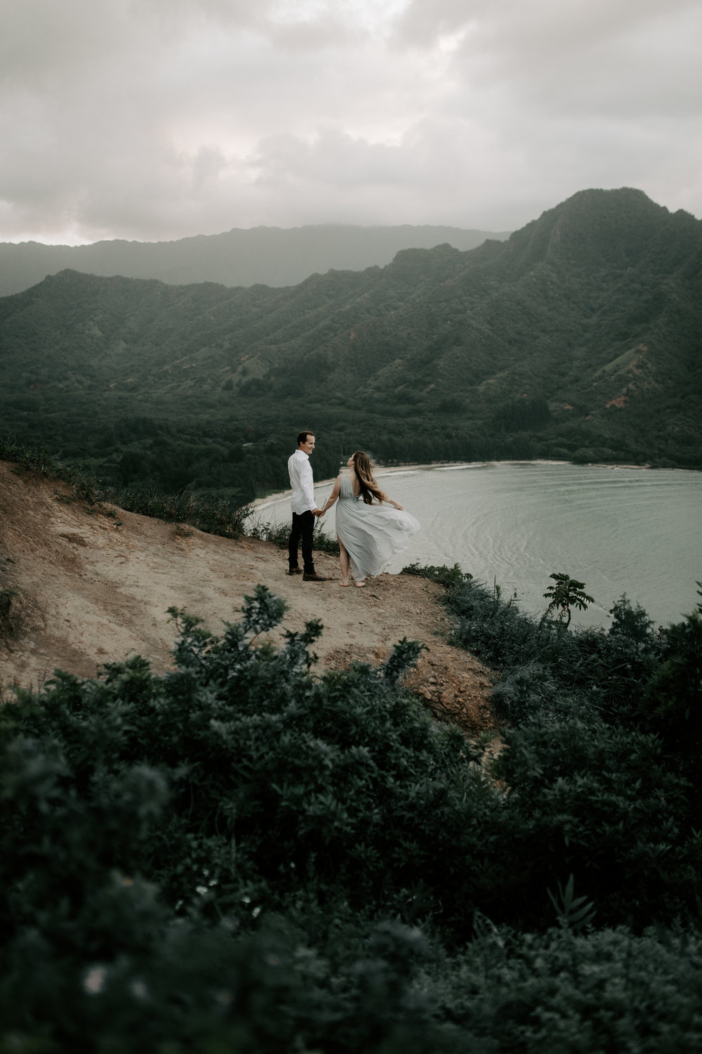 Crouching Lion Hawaii Elopement