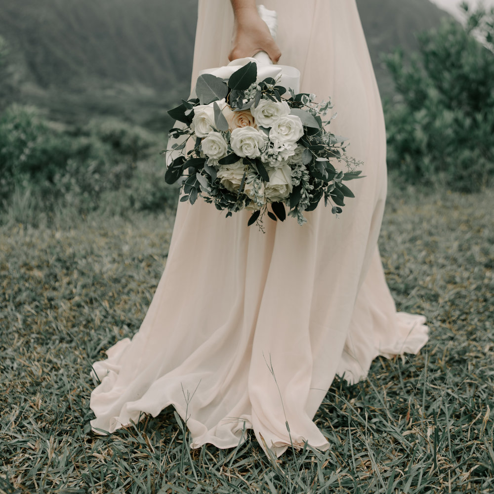 Pattys Floral Wedding Bouquet