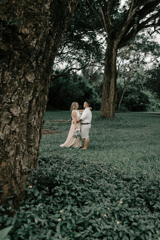 Hoomaluhia Botanical Gardens Wedding