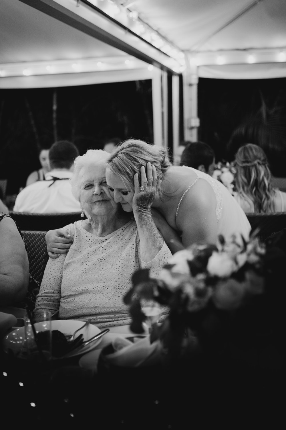 Bride and her Grandmother Picture