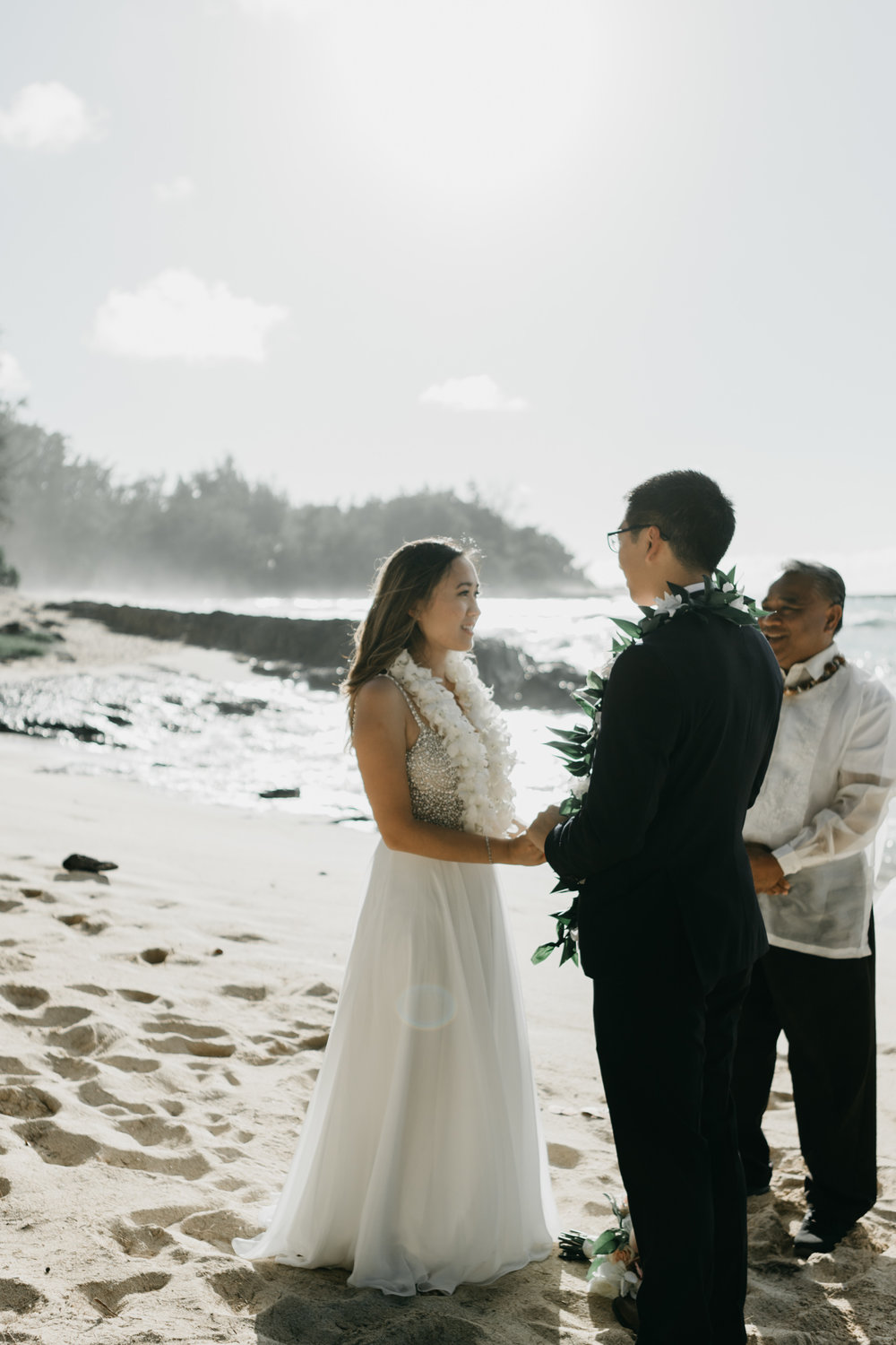 The Stables at Turtle Bay Resort Wedding by Hawaii Fine Art Wedding Photographer Desiree Leilani
