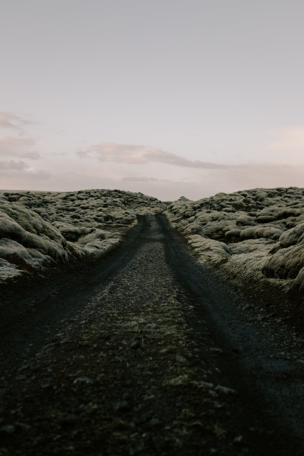 Iceland Lava Field Road Print by Photographer Desiree Leilani