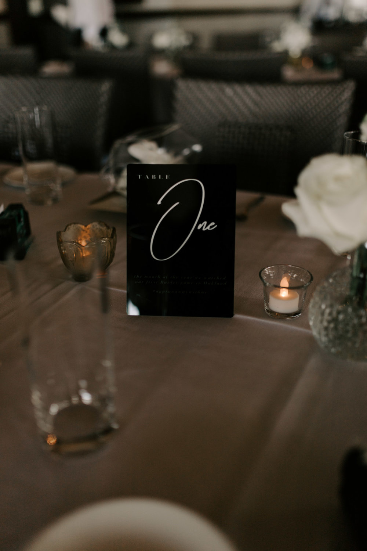 Wedding Reception Tablescape | Merriman's Kapalua Maui wedding by Hawaii wedding photographer Desiree Leilani