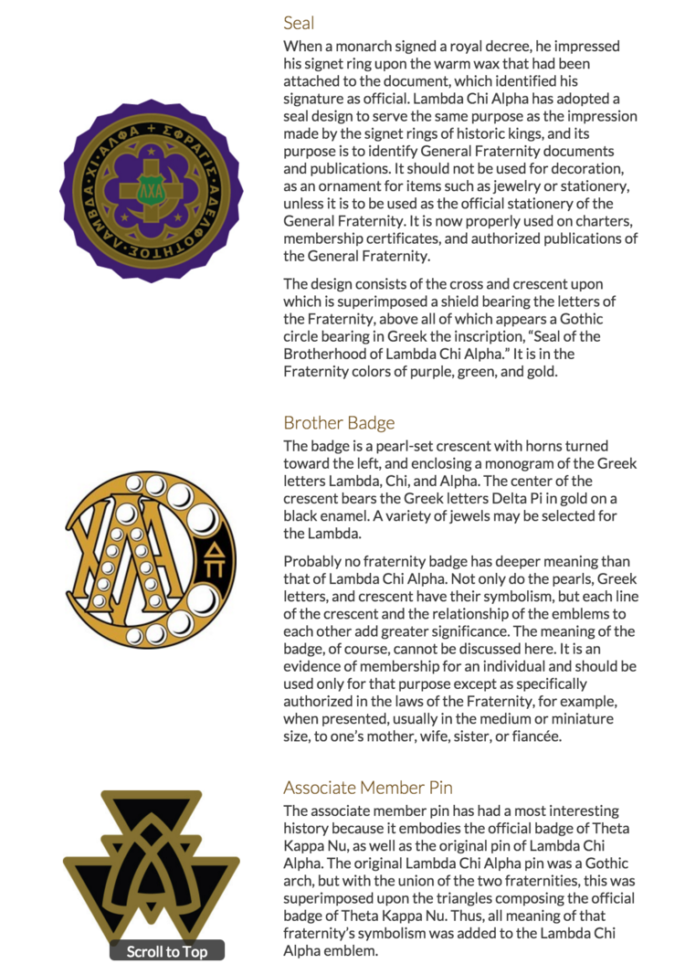 Our creed and symbolism lambda chi alpha the creed and symbols of lambda chi alpha biocorpaavc Gallery