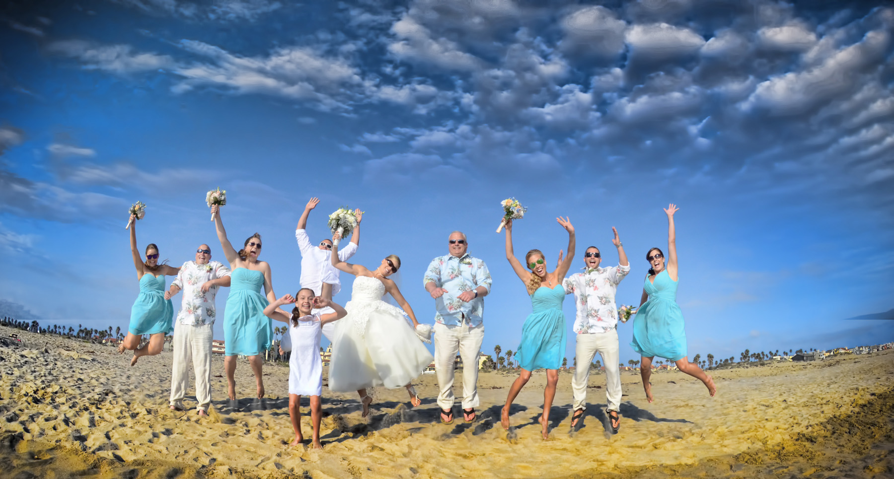 Beach-Front Wedding — Events by M and M
