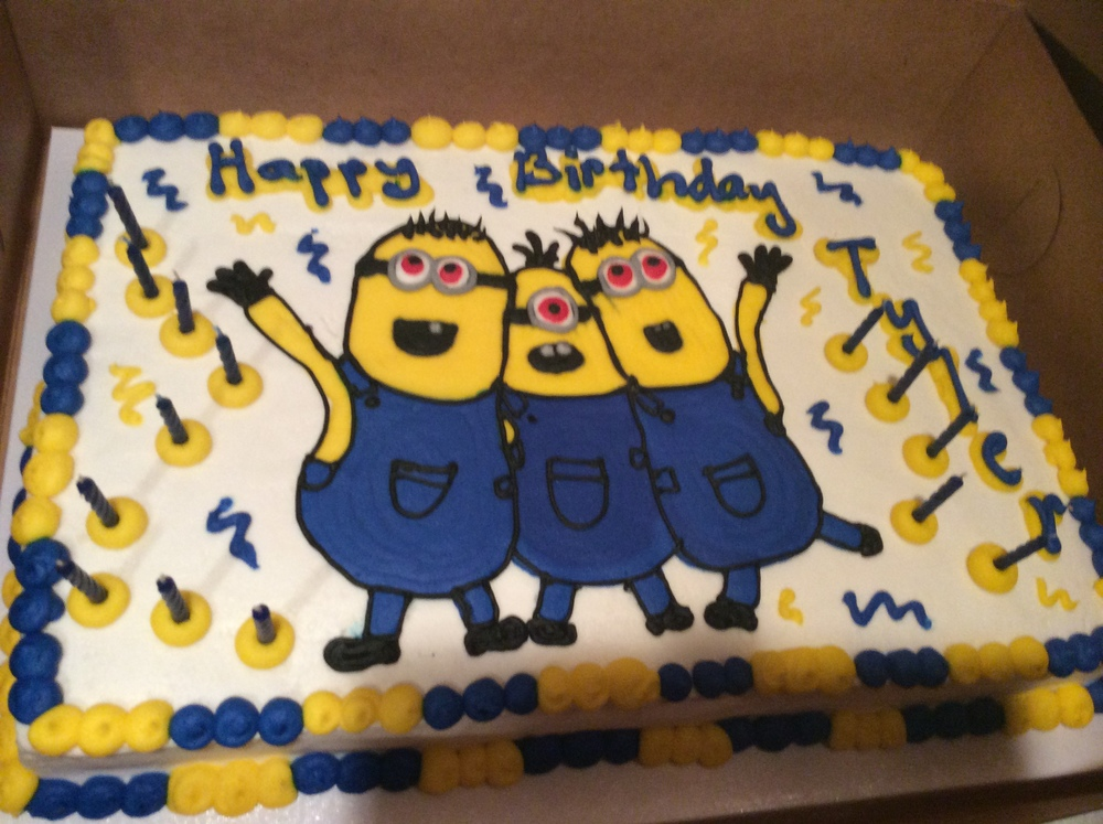 Minions Cake Is Whimsical and Too Cute for Words.
