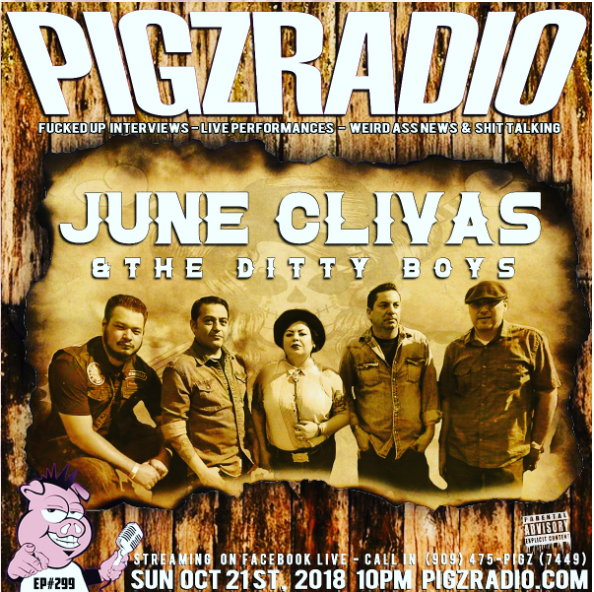 June Clivas & the Ditty Boys - featured on episode 299