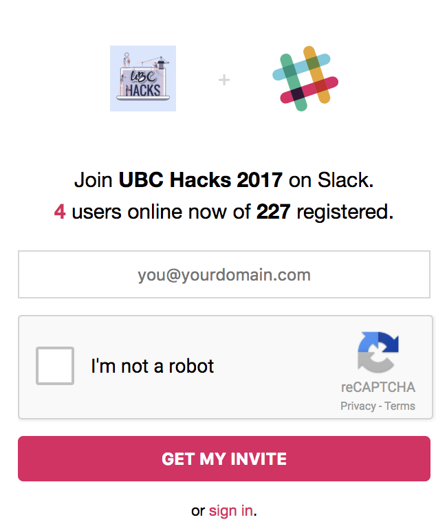 No robots allowed on our Slack  🤖 . (Maybe cyborgs).