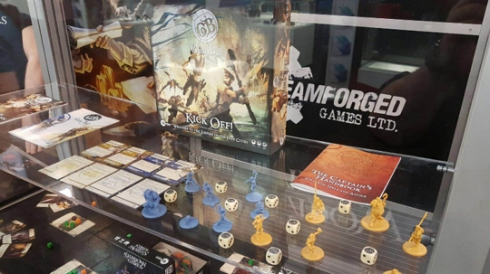 Kick Off! on display Thursday at Spiel. Come by today to see what's new!