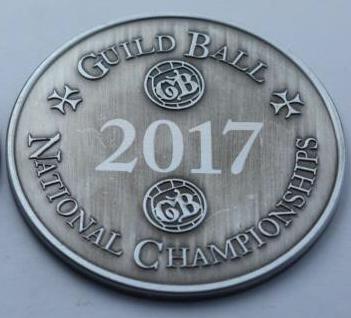 British National Championship - Challenge Coin — Steamforged Games