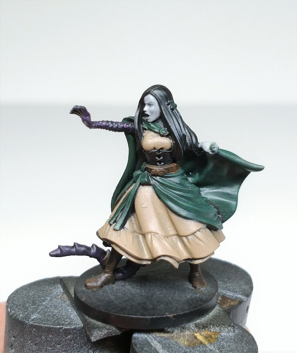 Painting Calianna Critical Role Steamforged Games