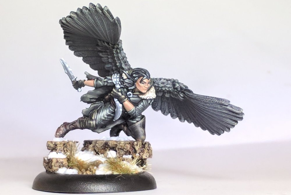 Click to view Jen's painted model on twitter!