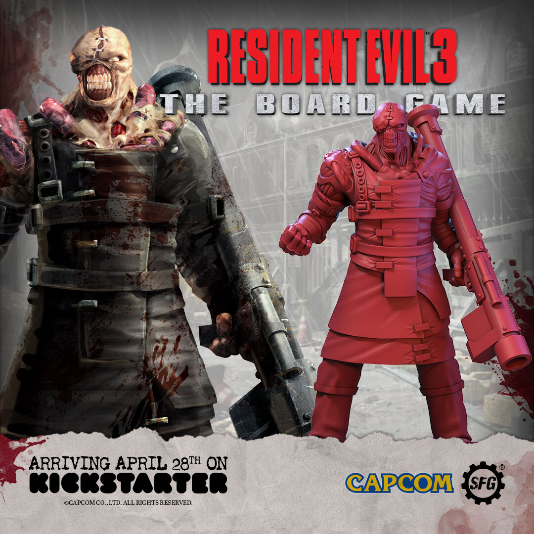 Nemesis In Resident Evil 3 The Board Game S T A R S Week