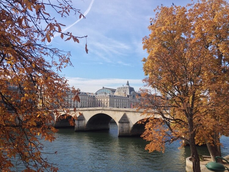 Pont Royal in Autumn, Paris