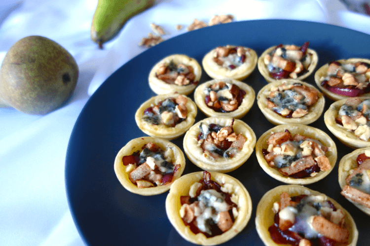 Some crushed walnuts can add some very enjoyable earthiness to these tarts.