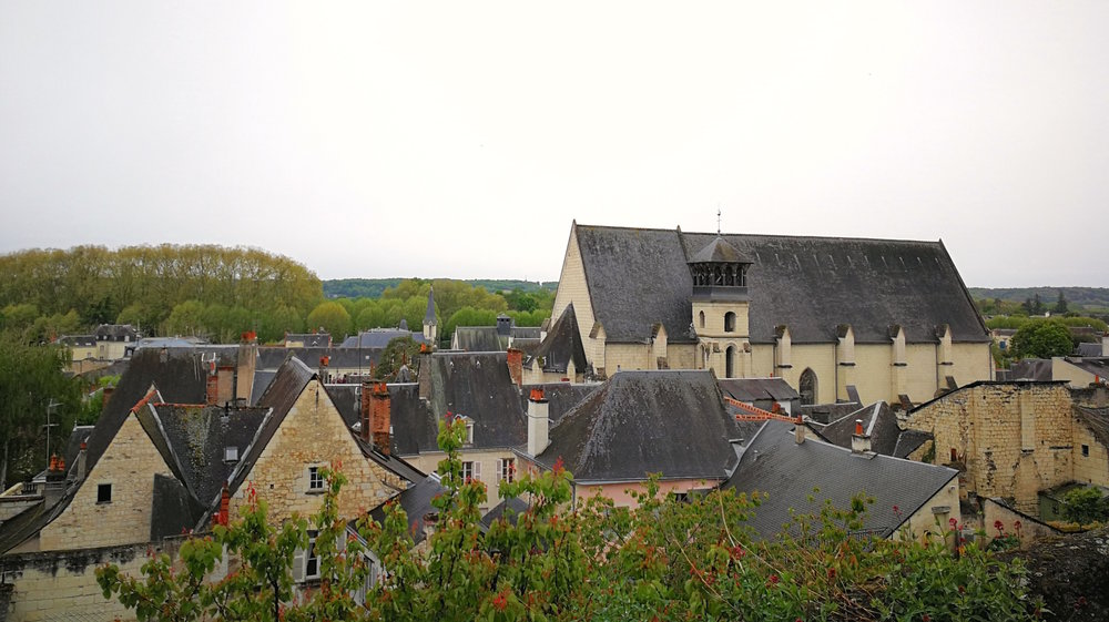 Chinon rooftops