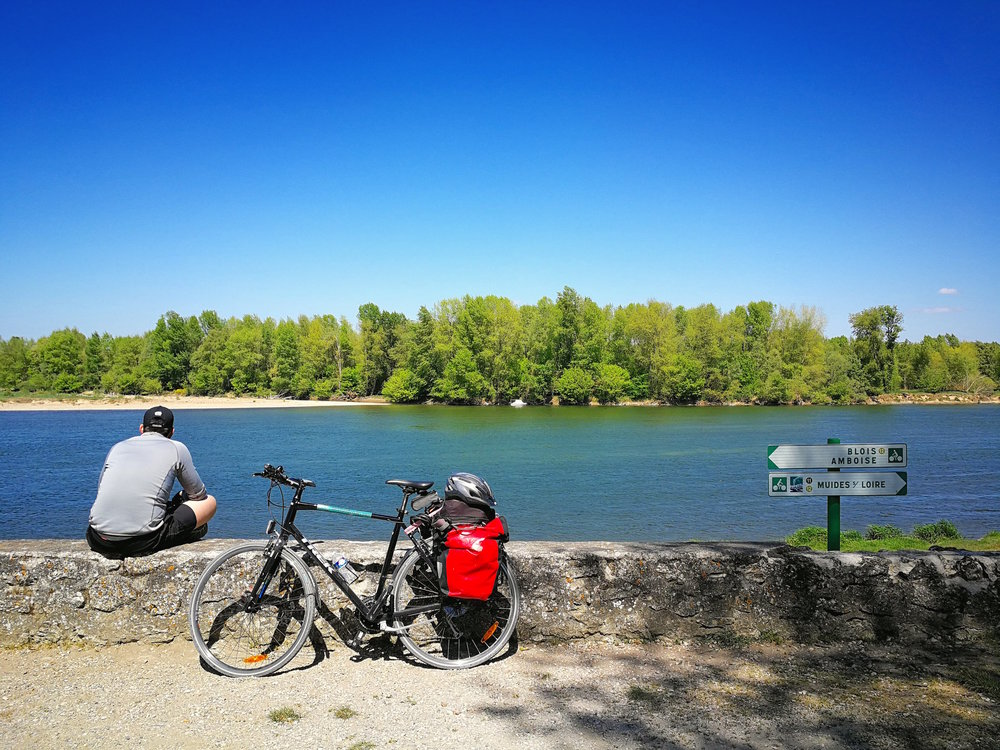 The Loire Valley bike route