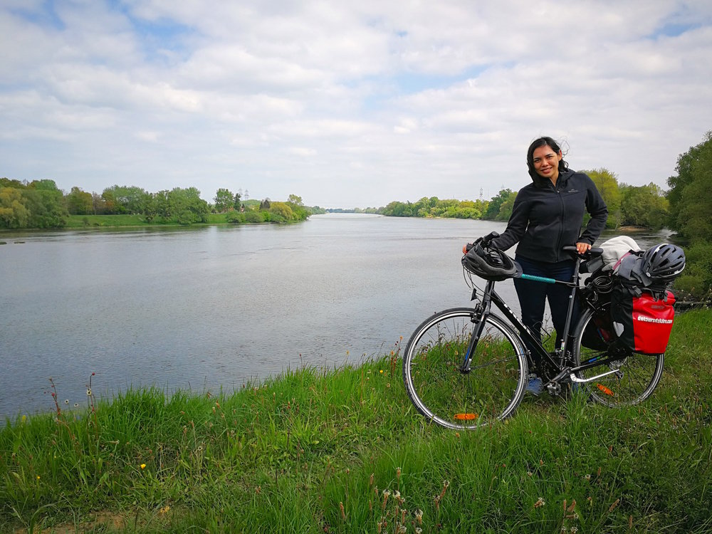 Cycling in the Loire Valley.