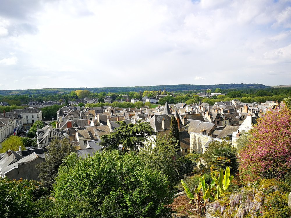 View in Chinon.