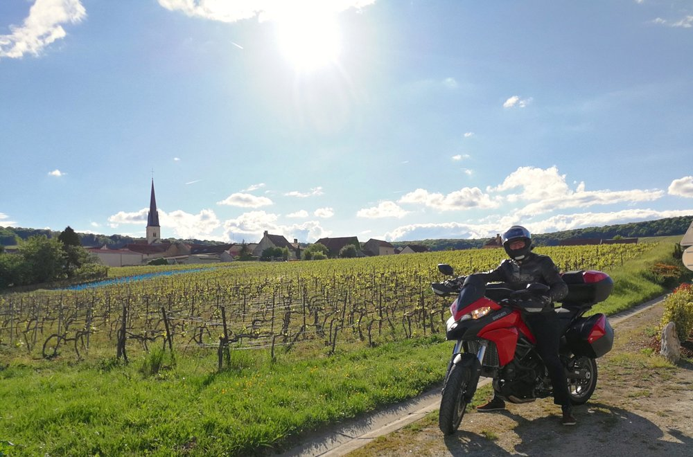 In Chamery, Champagne-Ardenne