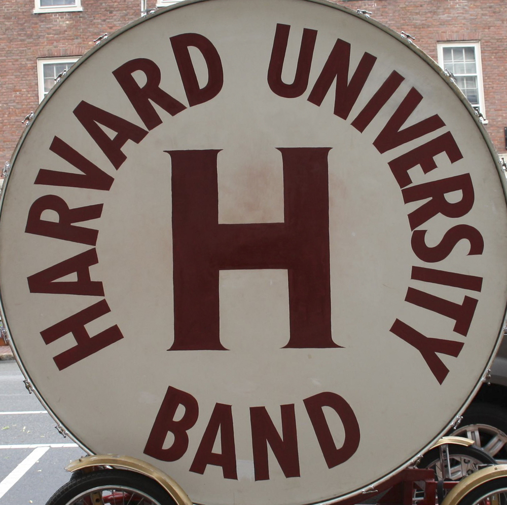 Harvard Marching Band Drum
