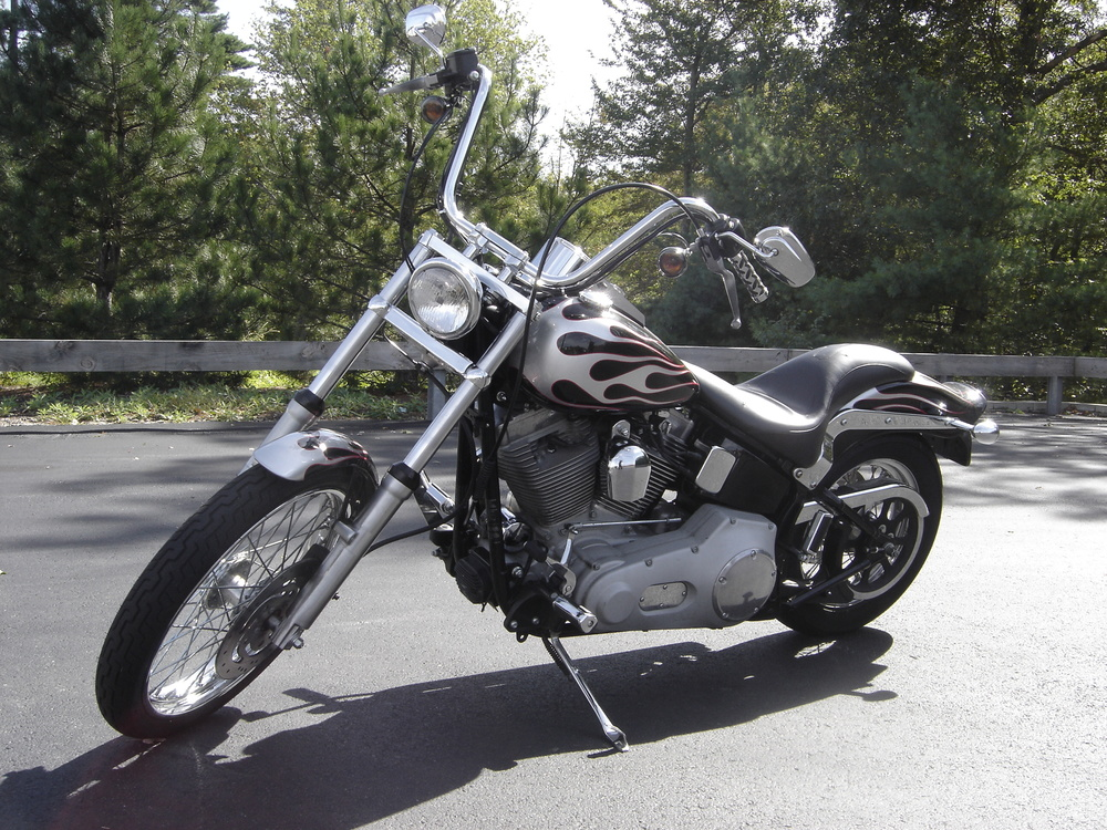 Custom Motorcycle Flames