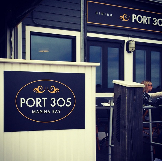 Port 305 Vinyl Signage