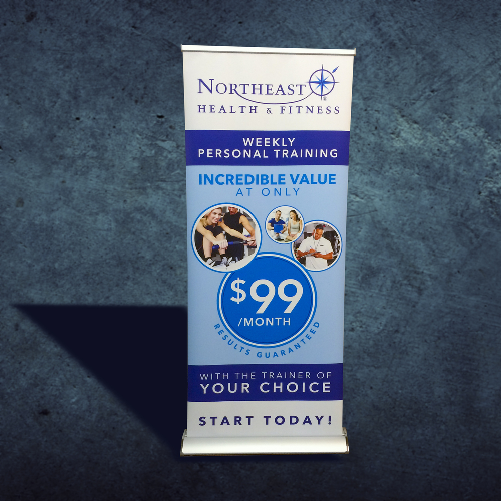 Northeast Health & Fitness Banner