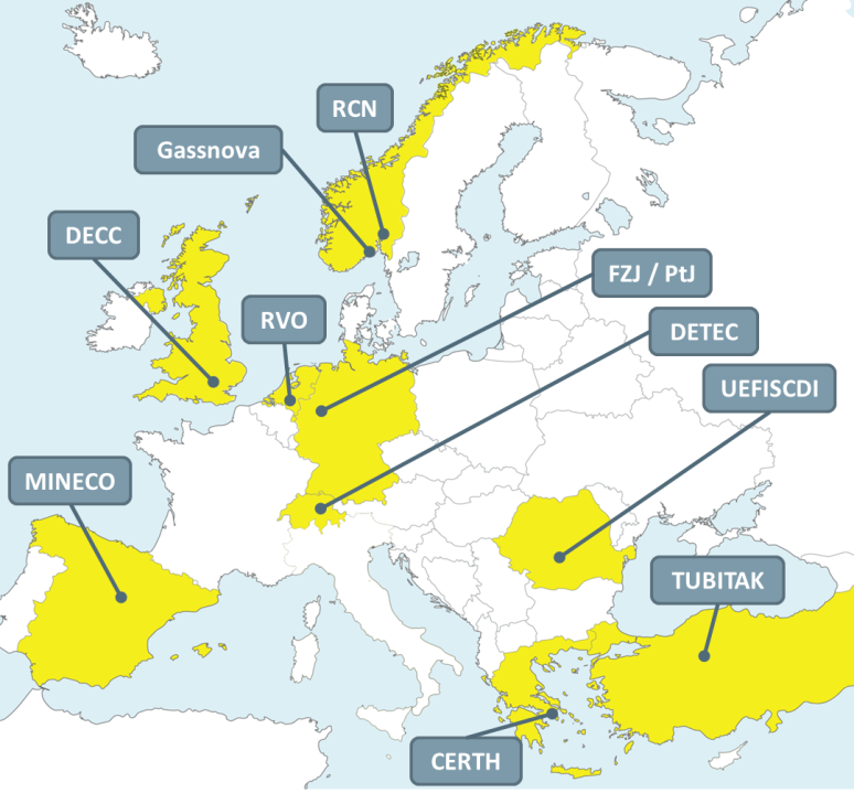 ACT partners from nine european countries
