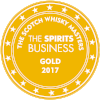 Gold Scotch Whisky Masters 2017 (The Spirits Business)  Batch !