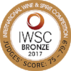 Bronze International Wine & Spirits Competition 2017  Batch 1